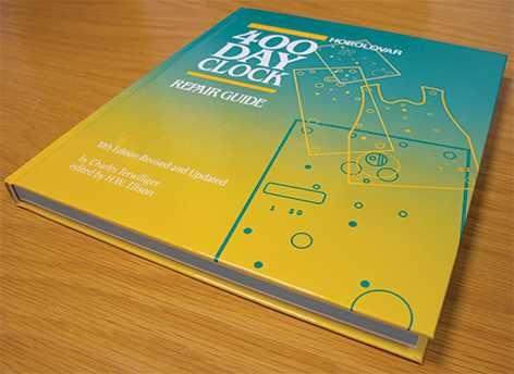 Horolovar Repair Guide, 10th Edition