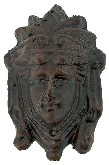 45 x 65mm, Crowned Head
