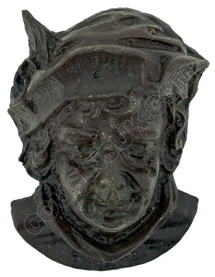 60 x 75mm, Head with Feathered Cap