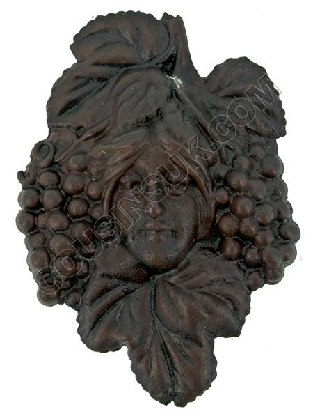 45 x 65mm, Head with Grapes