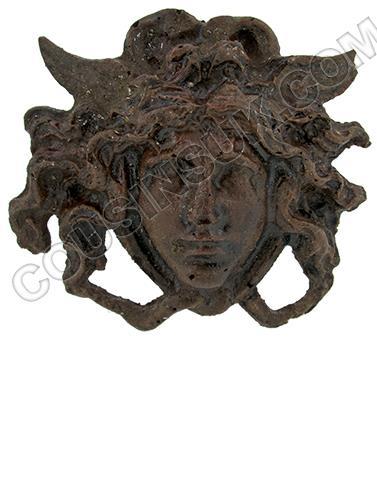 50 x 45mm, Greek Head