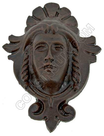 65 x 85mm, Crowned Head