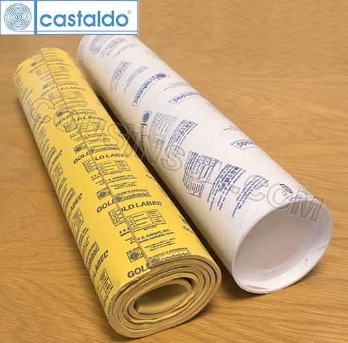 Gold Label (Rolls), Castaldo USA