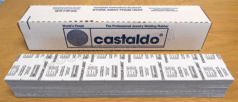 5lbs of Titanium Label Strips