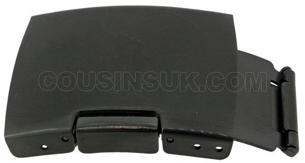 18mm (10mm) Black Clasp