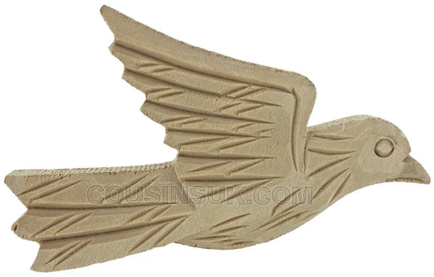 80 x 50mm Cuckoo Case Bird