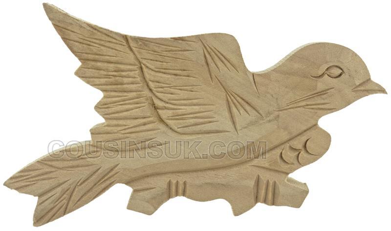 110 x 65mm Cuckoo Case Bird