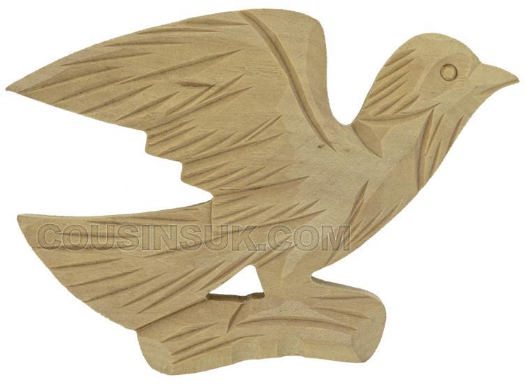 120 x 95mm Cuckoo Case Bird