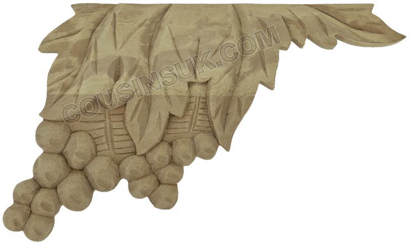 Case Plaque, Leaves (155 x 100mm)