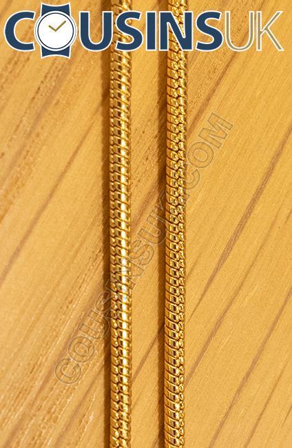GP, Ø1.80mm Snake Chain, 18 Inch (45cm)