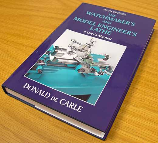 Watchmakers/Model Engineers Lathe By Donald De Carle