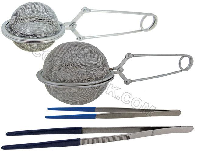 Steam Cleaning Aids, (Tweezers, Baskets)