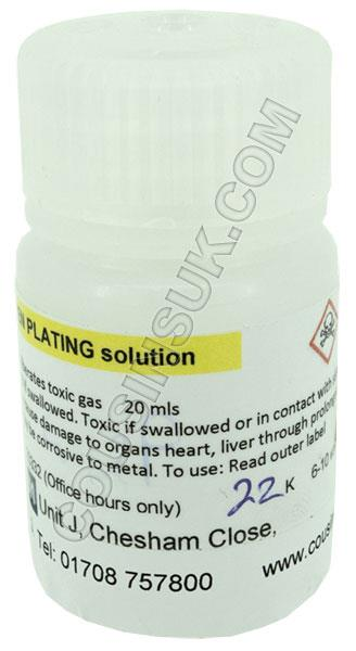 22ct Gold Pen Plating Solution