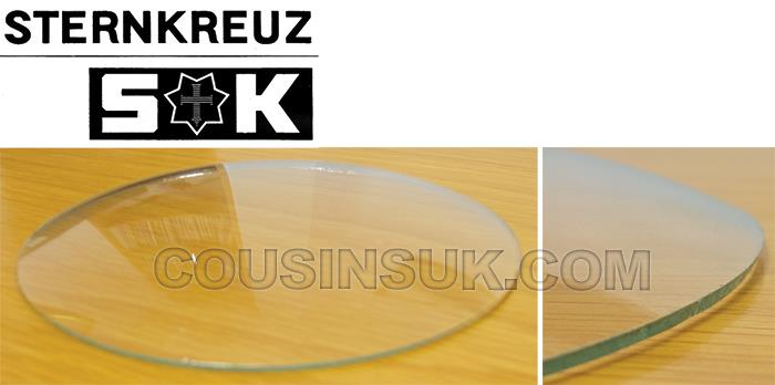 Mineral Glass (Rough Edge) Convex Clock Glasses