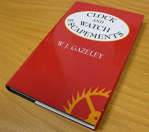 Clock & Watch Escapements By W.J Gazely
