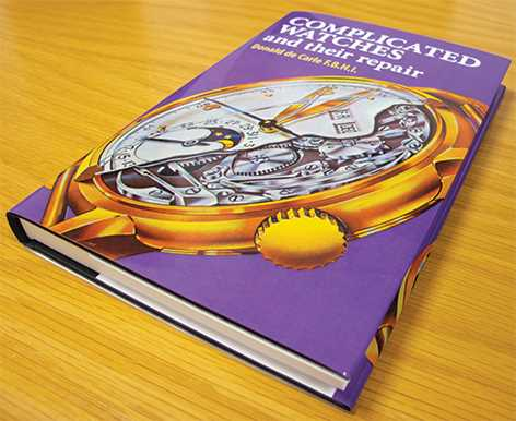 Complicated Watches & Their Repair By Donald De Carle