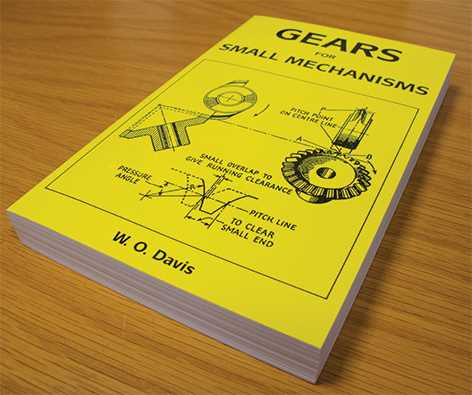 Gears For Small Mechanisms