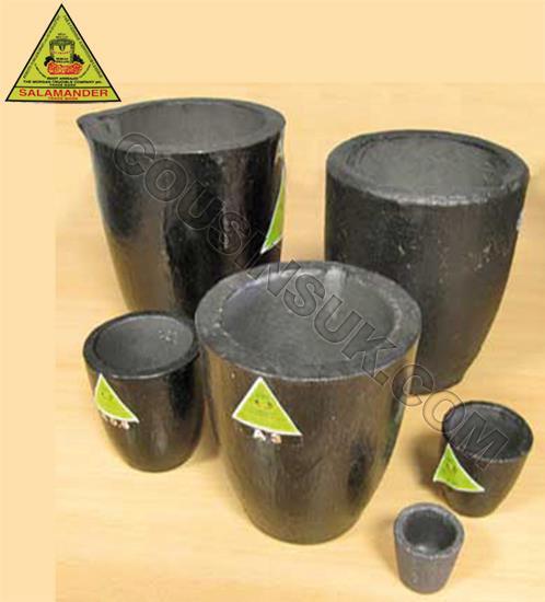 Morganite Clay Graphite Salamander Pots