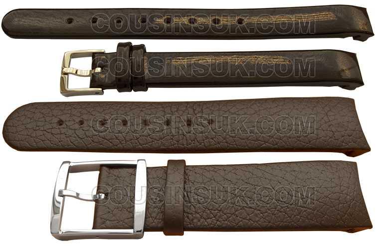 Calvin Klein Straps - Calf, Brown