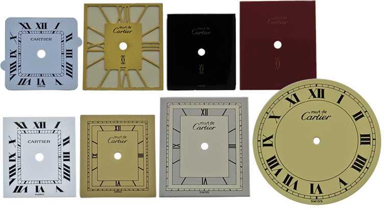 Cartier Dials