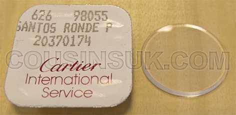 20370174 Santos Ronde, PM (Ø18.70mm)
