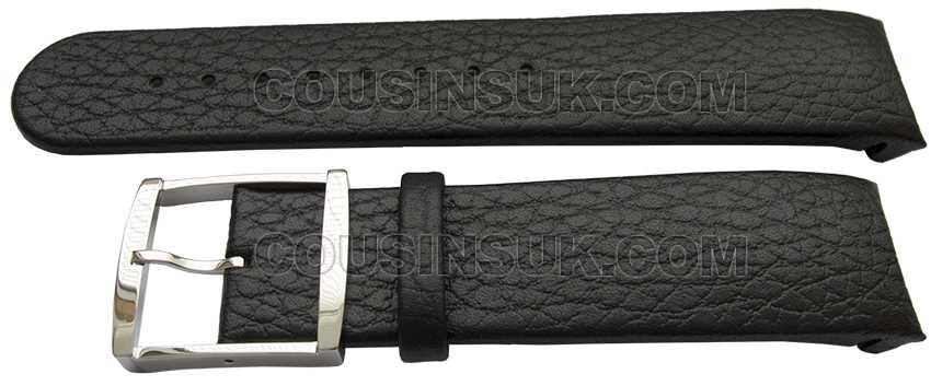 22mm Calvin Klein Black Calf