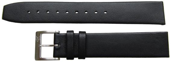 18mm Calvin Klein Black Calf