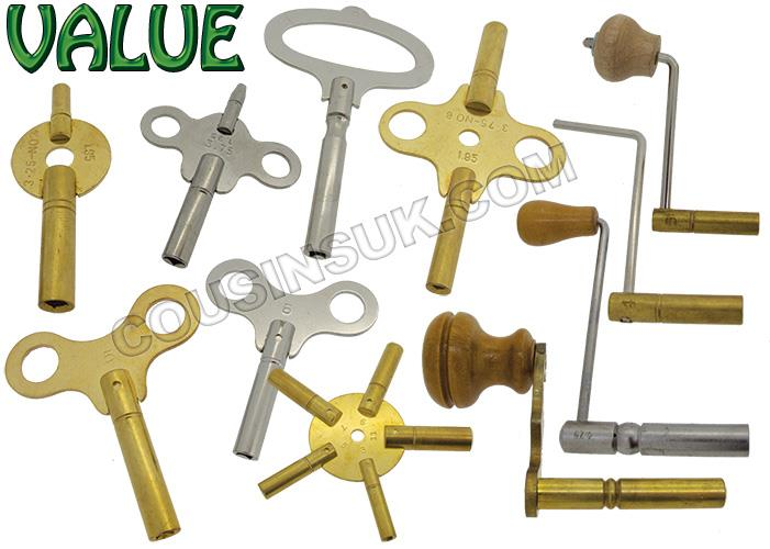 Clock Keys, Indian Made
