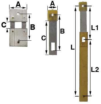 Pendulum Clock Suspension Springs