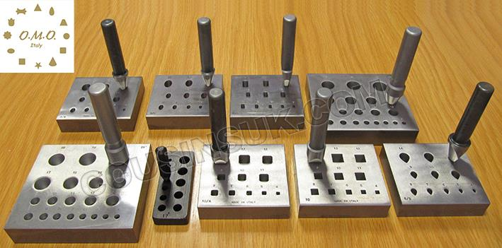 Collet Plates, Bezel Blocks & Punches