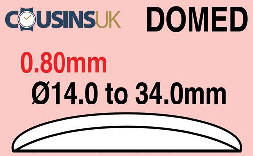 0.80mm, Domed, Cousins