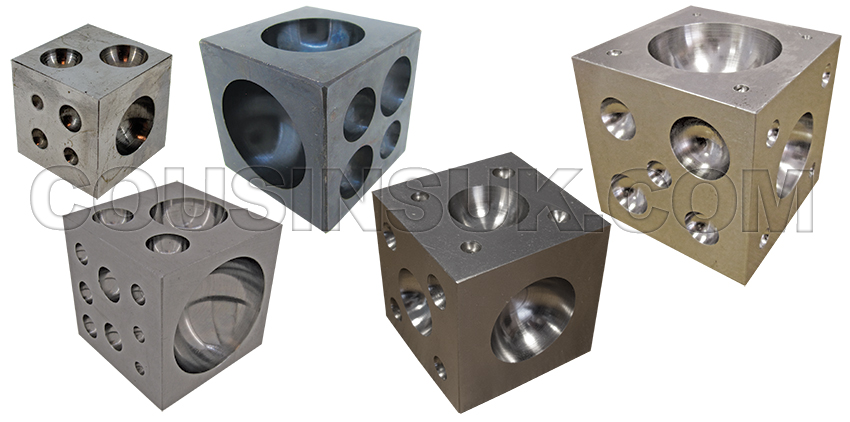 Dapping Cubes, Steel