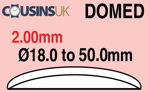 2.00mm, Domed, Cousins