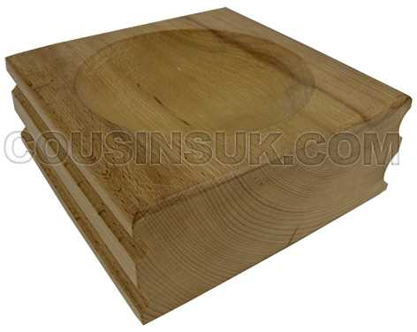Dapping Blocks, Wooden Extra Large