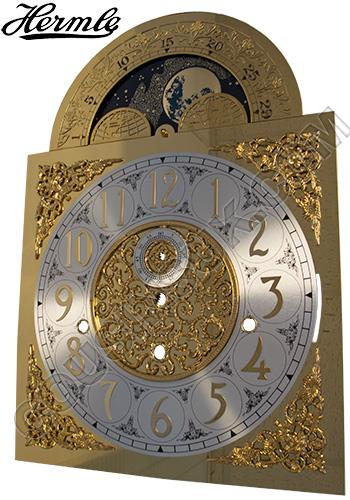 280 x 396mm (Arabic) with Moon Phase Movable, Hermle 1161