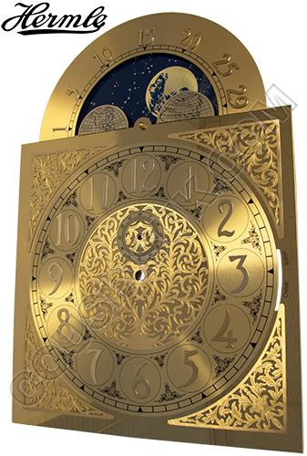 280 x 396mm (Arabic) with Moon Phase Movable, Hermle 451