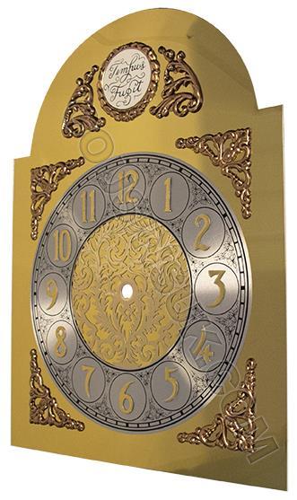 250 x 350mm (Arabic) with Tempus Fugit Plaque