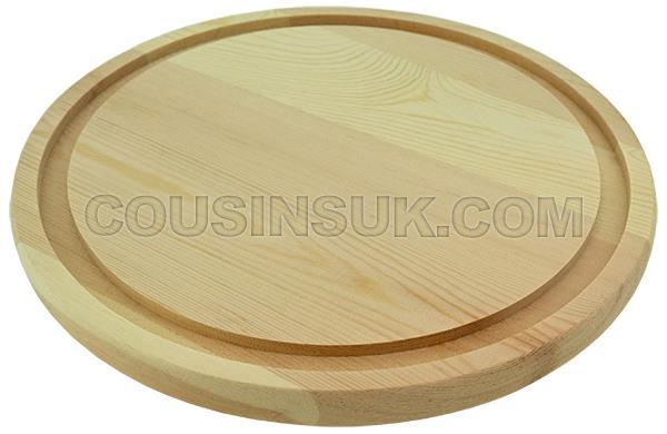 Ø90 x Ø105 x 120mm Wooden Base