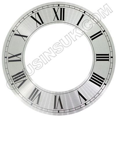 """Roman Ø152mm (6"""") Flat, Silver, Ø146mm (5¾"""")"""