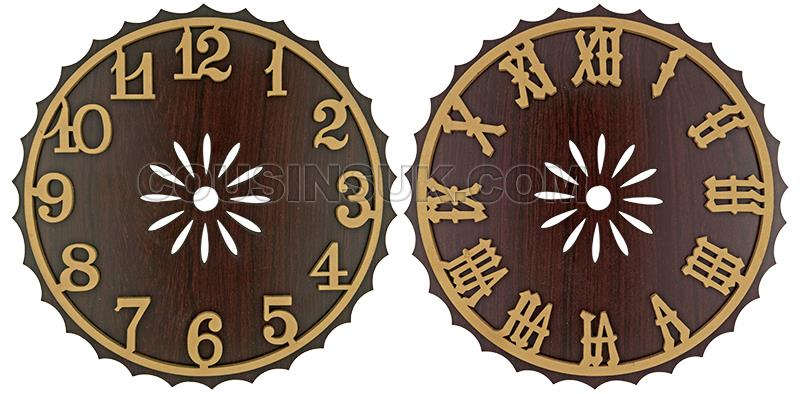 Dials (Unstained Numerals)