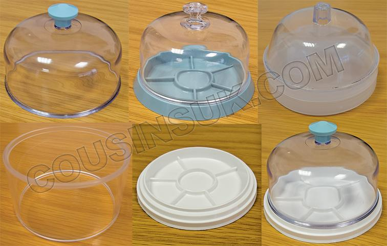 Dust Cover on Divider Tray