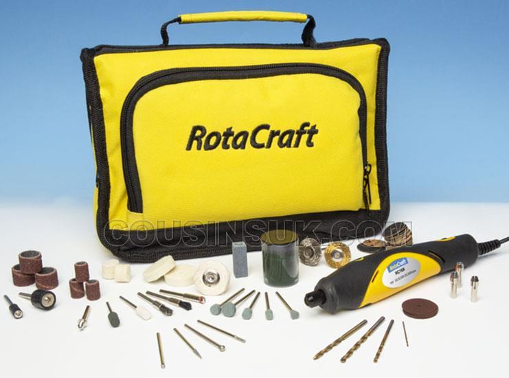 Rotary Drill & Tool Kit, Variable Speed