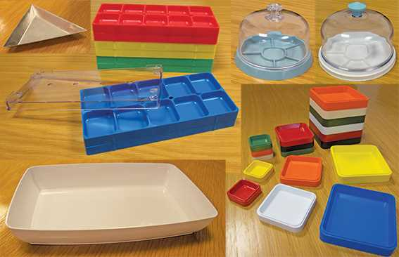 Dust Covers & Trays