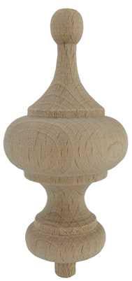 Ø44 x 82mm Wood Finial