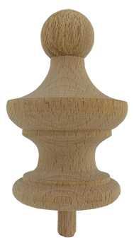 Ø52 x 82mm Wood Finial