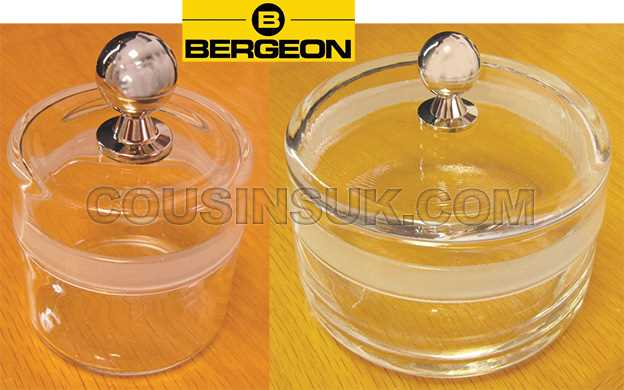 Essence Jars, Bergeon Swiss with Metal Knob