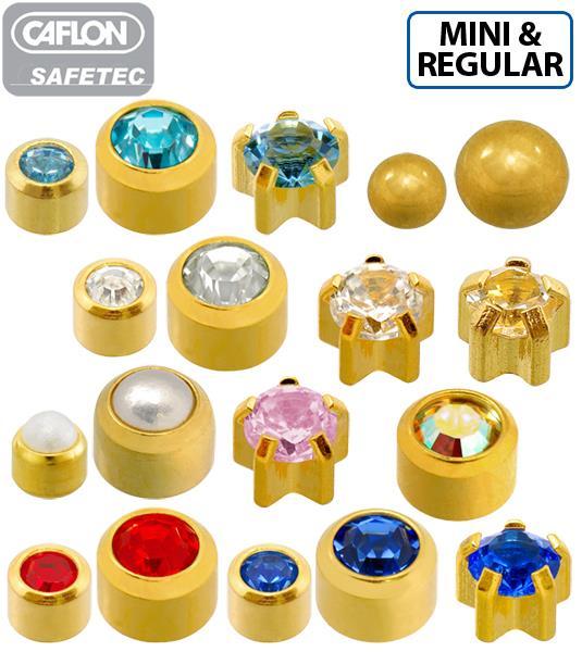 24ct Gold Plated Caflon Safetec