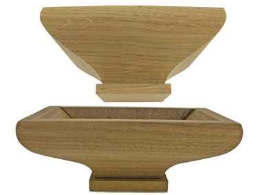 Oak or Walnut Bottom