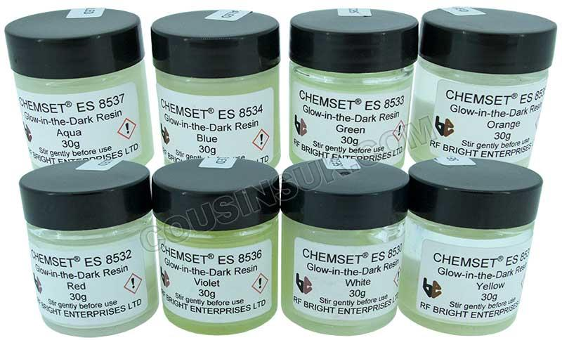 Resin (Colour), Glow In the Dark (Chemset UK)