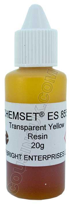 Yellow (Transparent) Enamel Resin